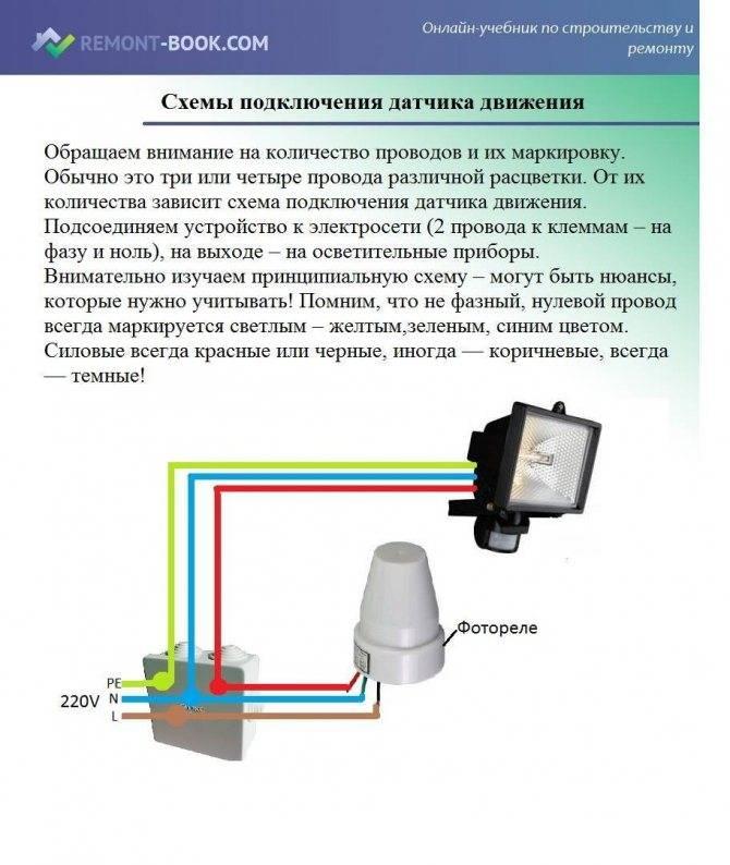 Как выбрать уличный датчик движения для включения света: советы и отзывы о производителях :: syl.ru