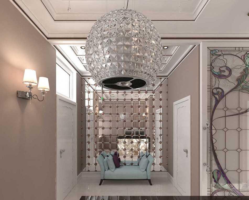 Светильники в прихожую: 100 фото освещения коридора современными светильниками