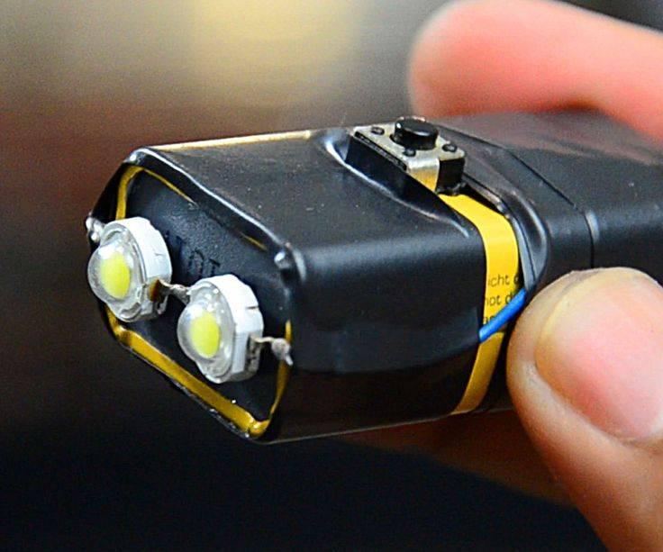 Самодельный фонарик своими руками
