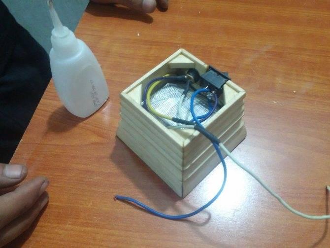 Как самому сделать светодиодный прожектор?