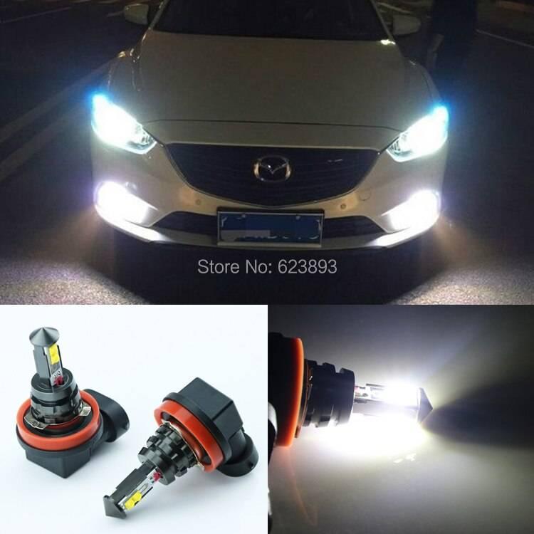 В какие фары можно ставить светодиодные лампы: штраф за установку диодов в фары на автомобиле