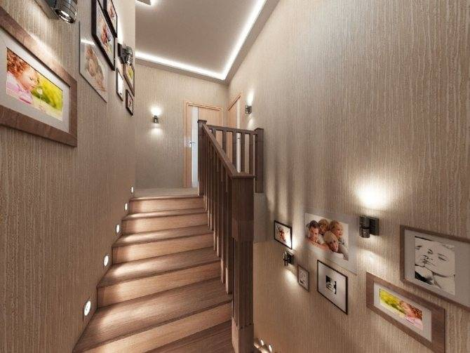 Освещение лестницы в частном доме: как выбрать и управлять