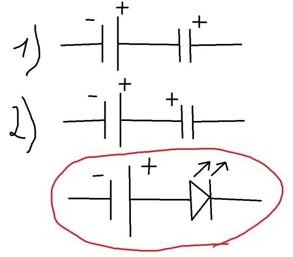 Полярность светодиода: как определить где плюс и минус, анод и катод, лучшие способы