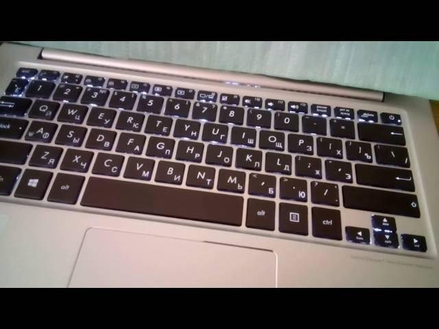 Включение подсветки клавиатуры на ноутбуке dell