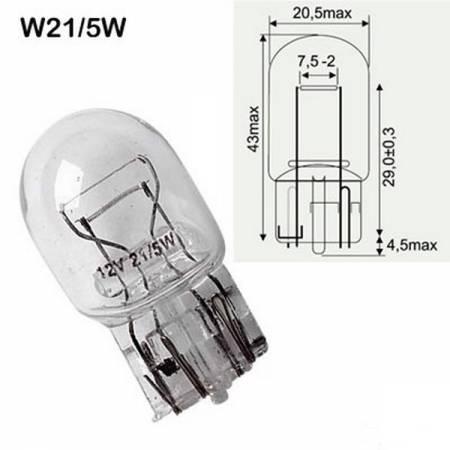 Светодиодные лампы в габаритах: можно ли использовать?