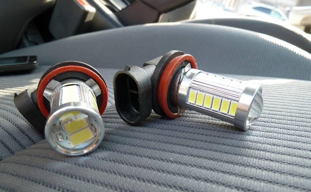 Можно ли ставить светодиодные лампы в габариты и фары автомобиля: полная инфорация о светодиодах