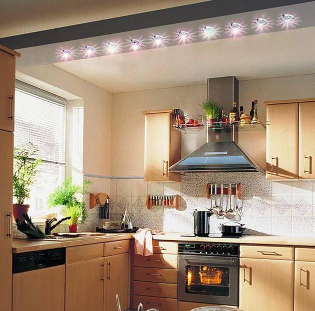 Какой выбрать на кухню светильник: советы :: syl.ru