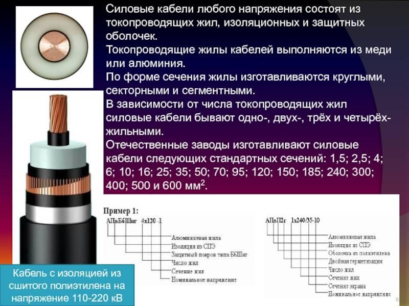 Кабель из сшитого полиэтилена (спэ): строение. классификация, характеристики и прокладка