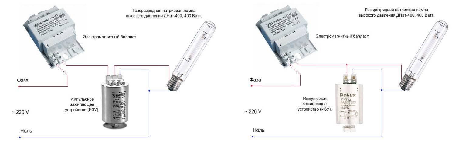 Что такое изу. особенности подключения и использования натриевых ламп