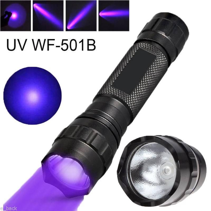 Ультрафиолетовый фонарик, назначение, разновидности, производители