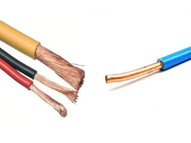 Какой провод лучше многожильный или одножильный для проводки в доме