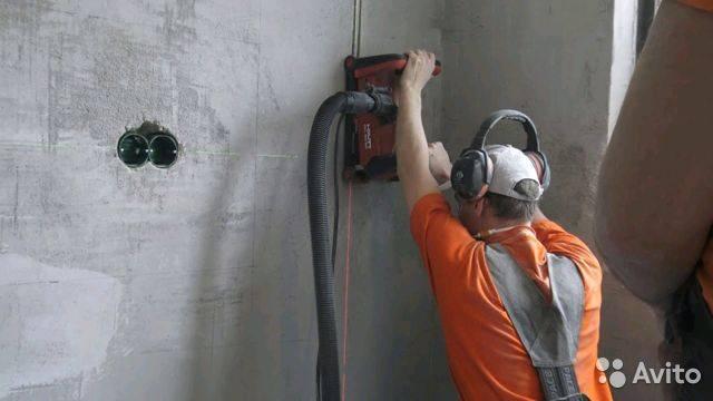 Штробление стен под проводку: как и чем штробить — обзор - строительство и ремонт