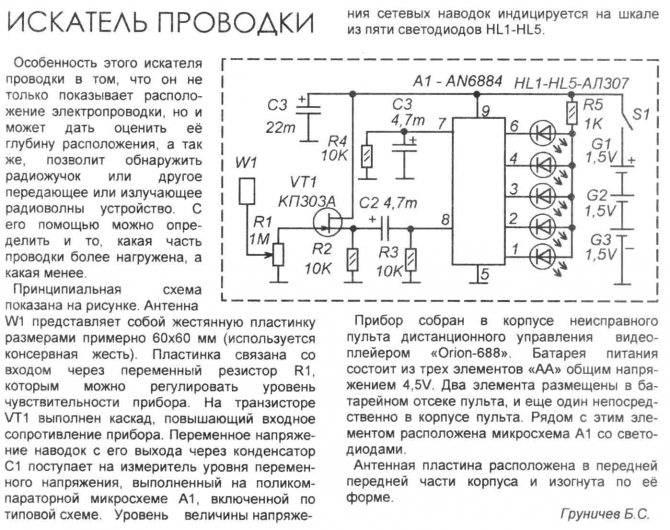 Топ-10 детекторов скрытой проводки - лучшие модели 2021