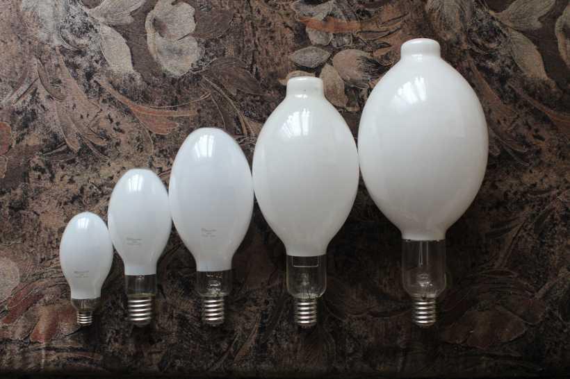 Газоразрядные лампы: характеристики, область применения