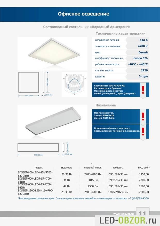 Светильник армстронг: 85 фото вариантов применения в офисе и на производстве