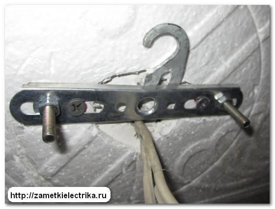 Как повесить люстру на натяжной потолок – проверенные способы