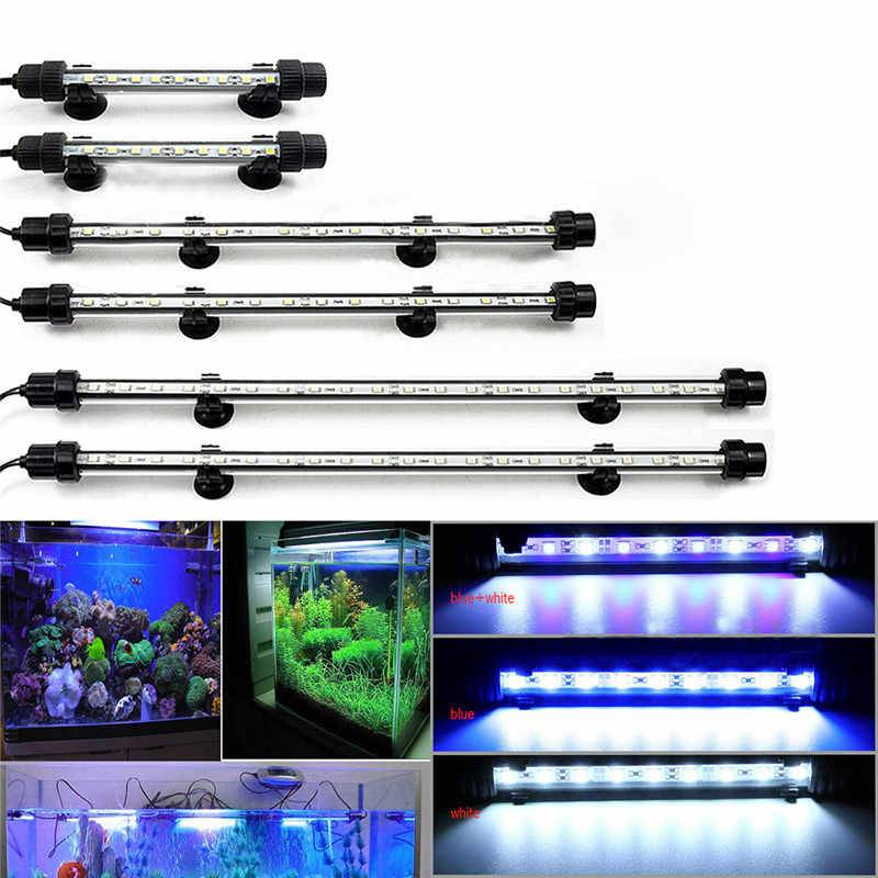 3 способа расчета освещения для аквариума - мощность светодиодных и люминесцентных ламп.