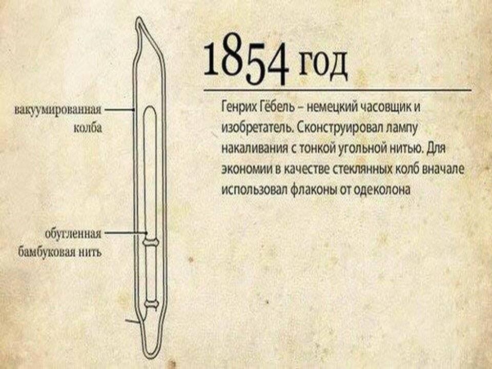 2.12. первые источники электрического освещения. история электротехники