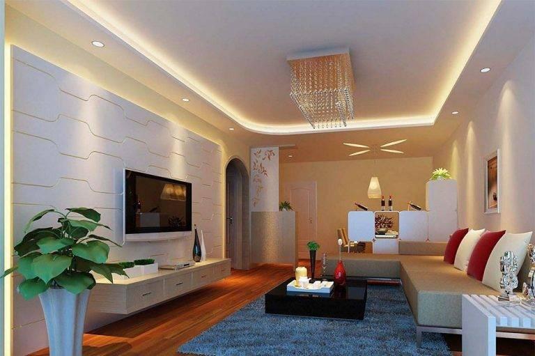 Ошибки и правила расположения точечных светильников на потолке