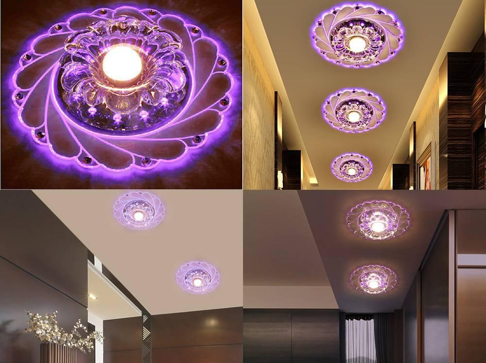 Какие светильники лучше для натяжного потолка - сравнение, характеристики - блог о строительстве
