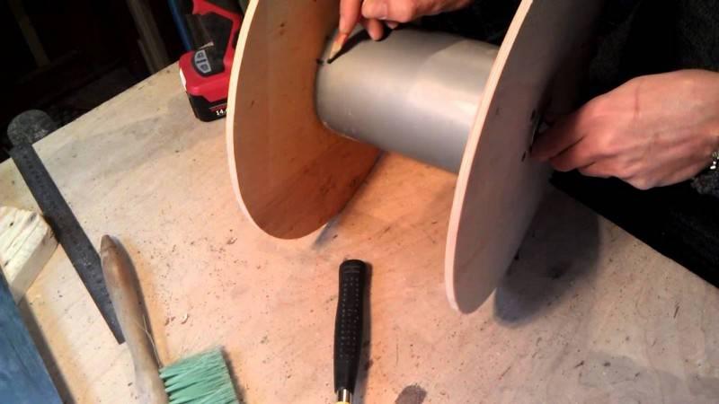 Как изготовить катушку для удлинителя своими руками в домашних условиях?
