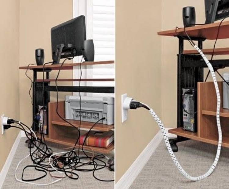 Лучшие идеи скрытия проводов на стенах, полу и потолке в доме