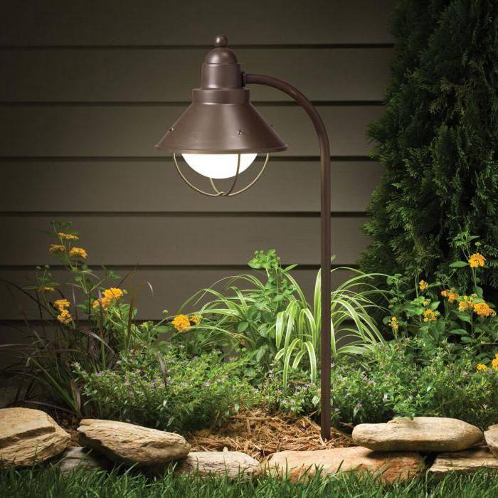 Особенности выбора уличных фонарей для загородного дома и дачи