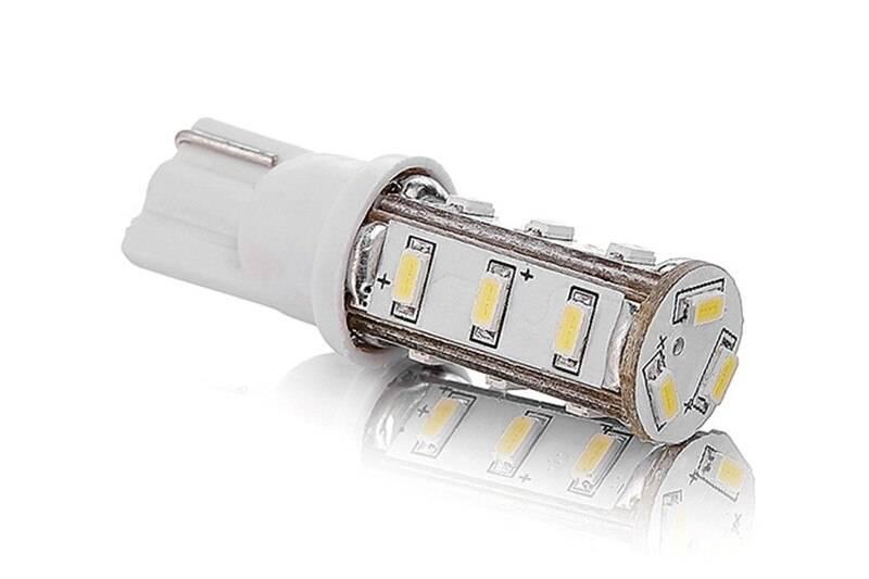Лампы w5w: светодиодные и накаливания, для габаритов