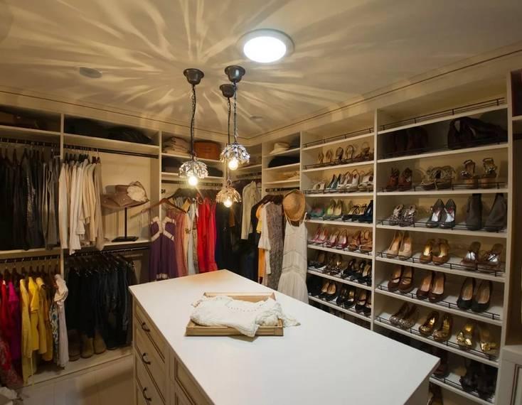 Освещение в гардеробную - 50 фото новинок дизайна