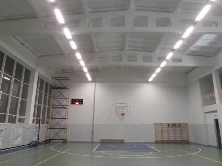 Освещение в спортивном зале: нормы освещенности в школе, особенности выбора