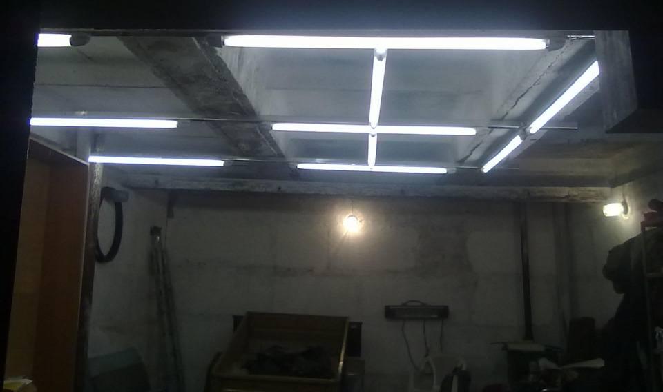 Светодиодное освещение в гараже своими руками - bmi-rus.ru