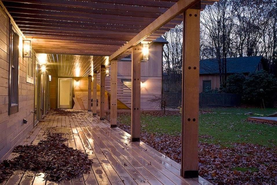 Красивые веранды и террасы пристроенные к частному капитальному дому: варианты, виды, оформление, проекты, фотогалерея, картинки, фото