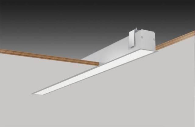 Линейный светильник встраиваемый: виды, особенности, монтаж
