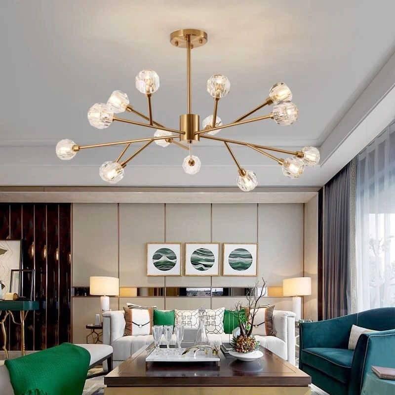 Люстры в гостиную: фото модных идей, советы по выбору и применение лучших дизайнерских элементов освещения