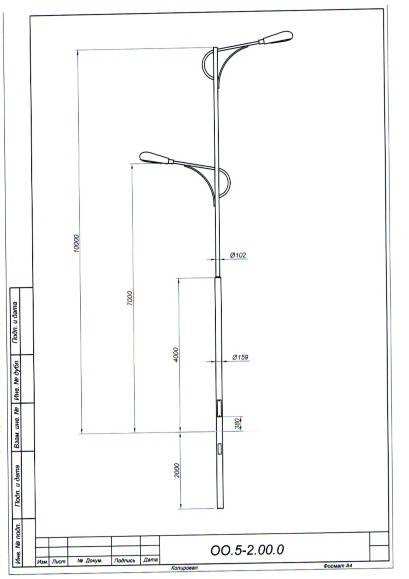 Как правильно выбрать столб для уличного освещения?
