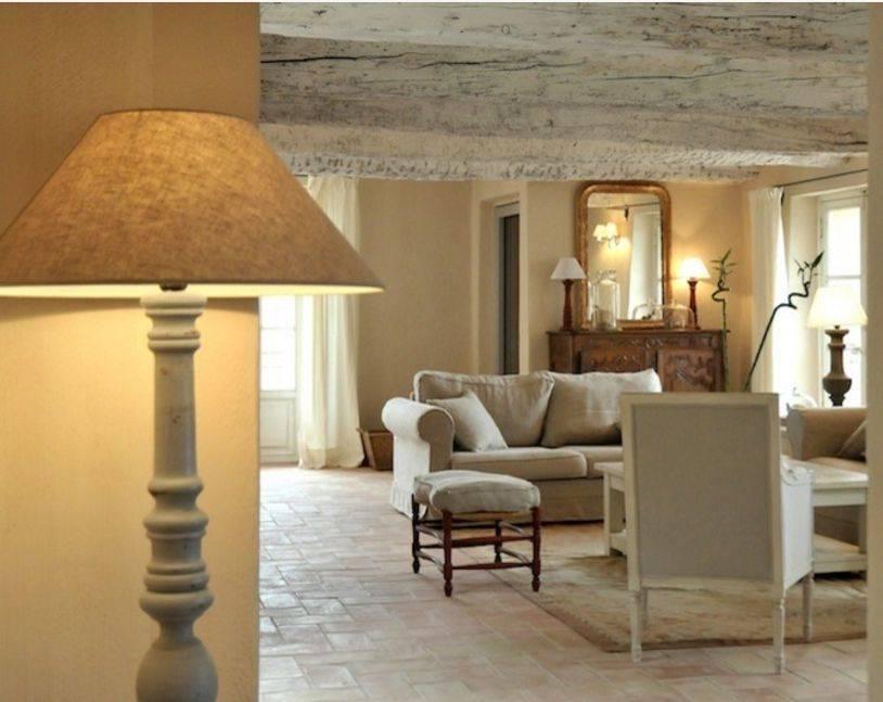 Прованс-стиль в интерьере: фото, нюансы оформления пола, стен, потолка, освещение и правила декора помещений