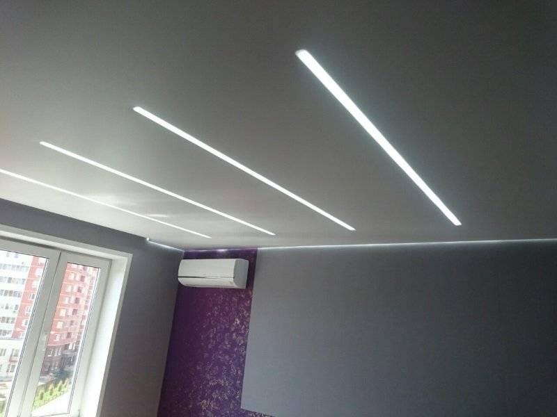 Потолочный плинтус с подсветкой: установка светодиодной ленты по периметру потолка