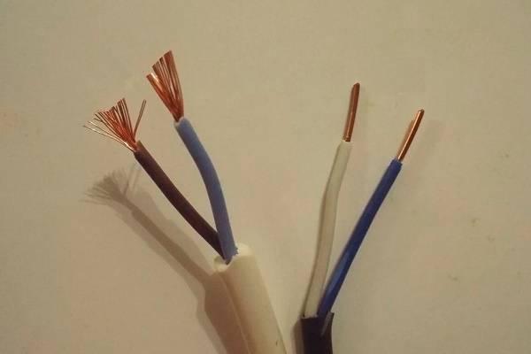 Что лучше выбрать для электрической проводки — одножильный или многожильный провод