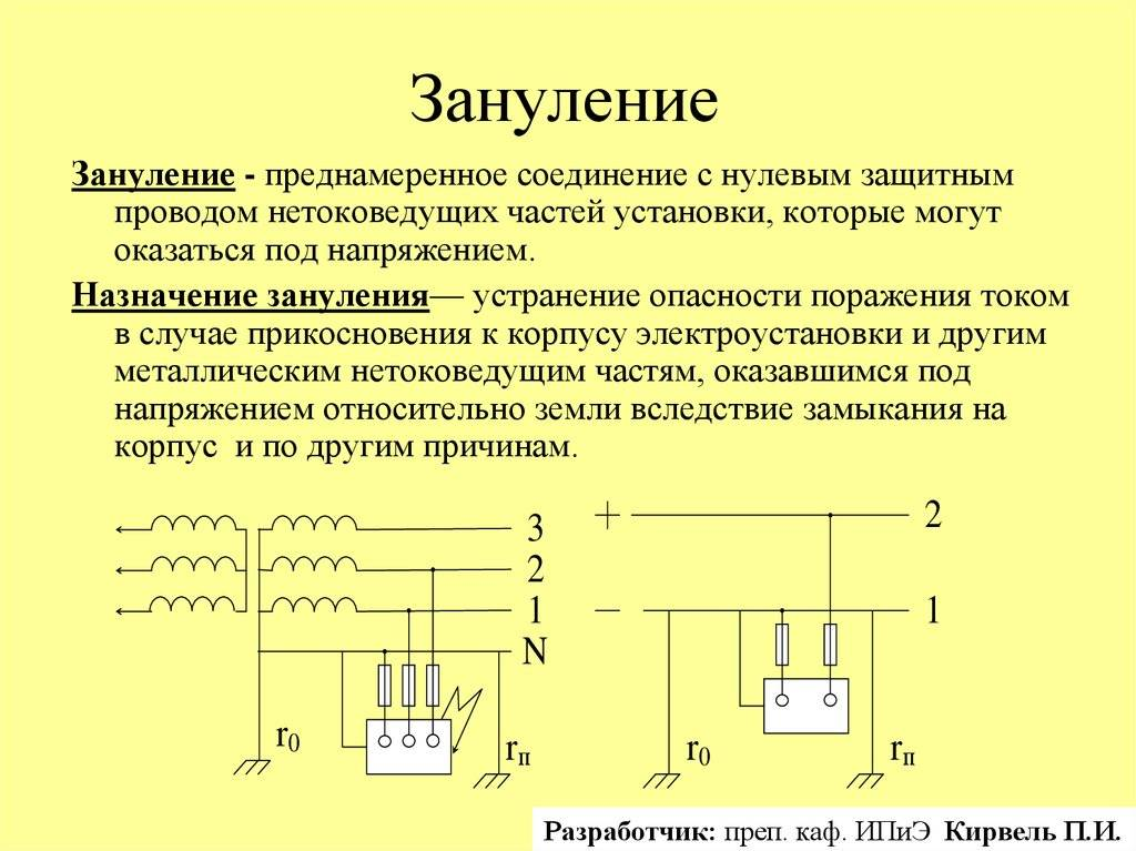 Фаза и ноль в электрике - назначение фазного и нулевого провода