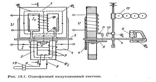 Схема подключения однофазного счетчика электроэнергии и варианты установки