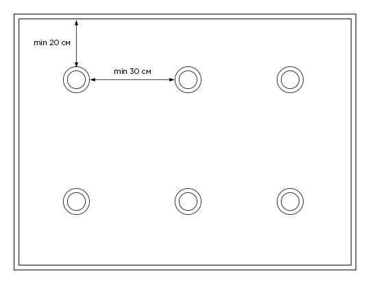 Расположение точечных светильников на потолке в спальне: как разместить, схема, фото