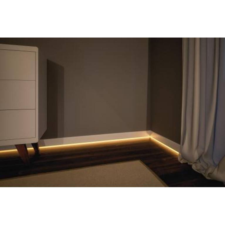 Потолочный плинтус с подсветкой. подрезка углов и монтаж на стену. выбор, подключение и монтаж подсветки