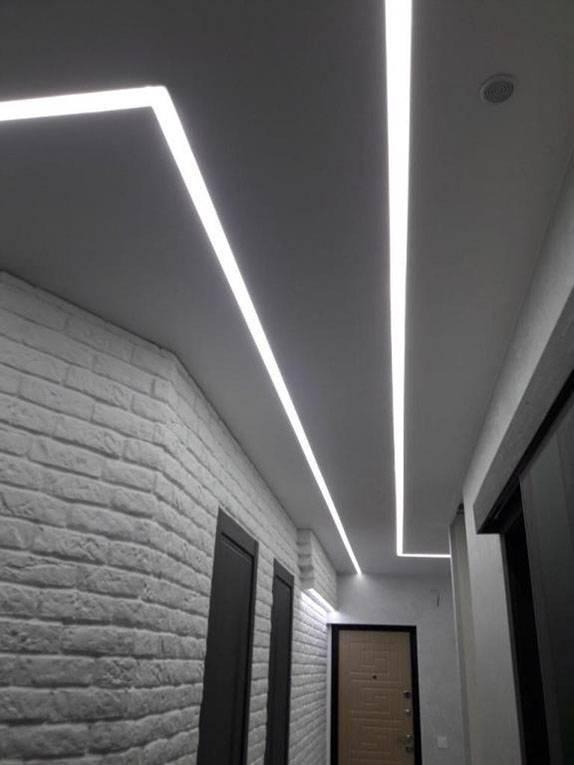 Светящийся натяжной потолок: особенности, инструкция по монтажу