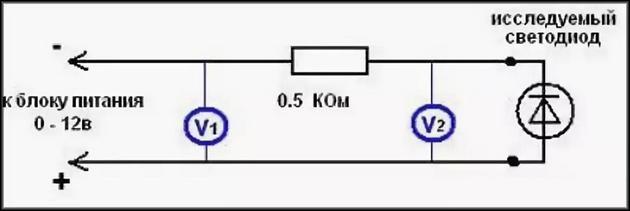 Правильное подключение светодиодов