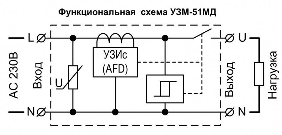 Устройство защиты многофункциональное: принцип работы, схема подключения, отличие от реле напряжения