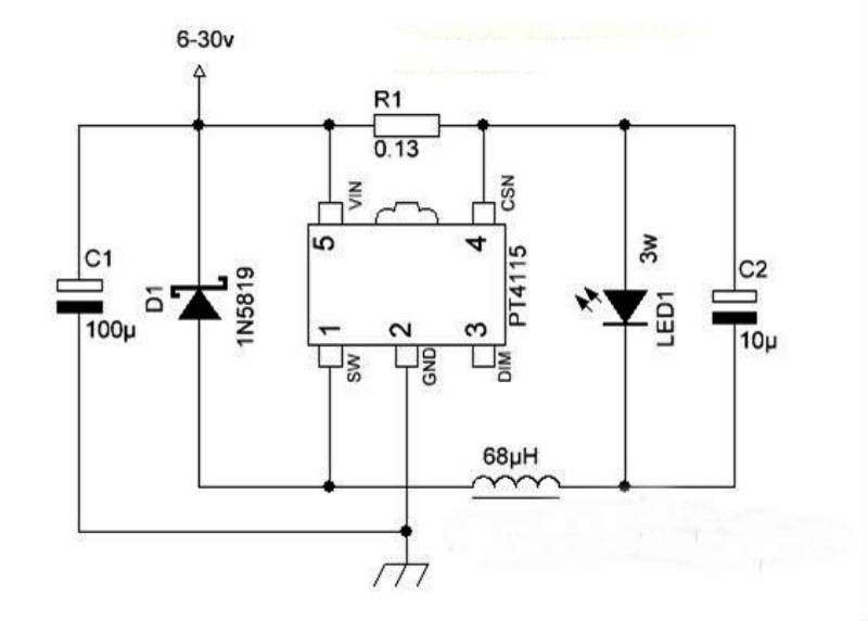 Светодиодный драйвер своими руками: схемы, расчеты