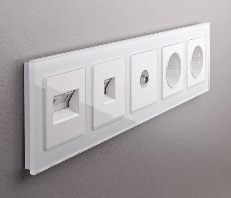 Обзор современных выключателей и розеток