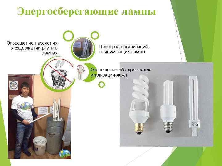 Что делать, если разбилась энергосберегающая лампочка, и насколько это опасно