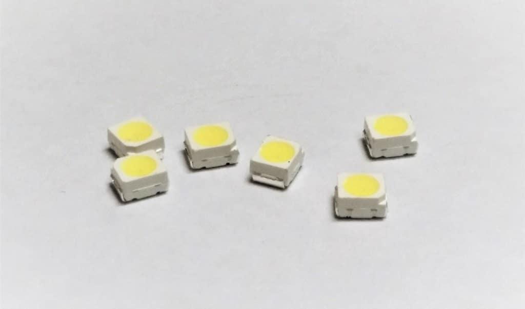 Справочная таблица параметров популярных smd светодиодов с даташитами