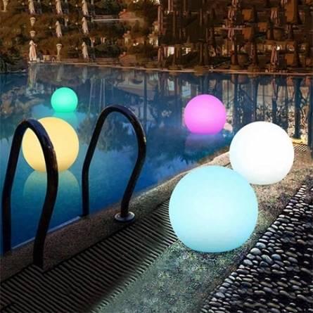 Принципы подсветки бассейна